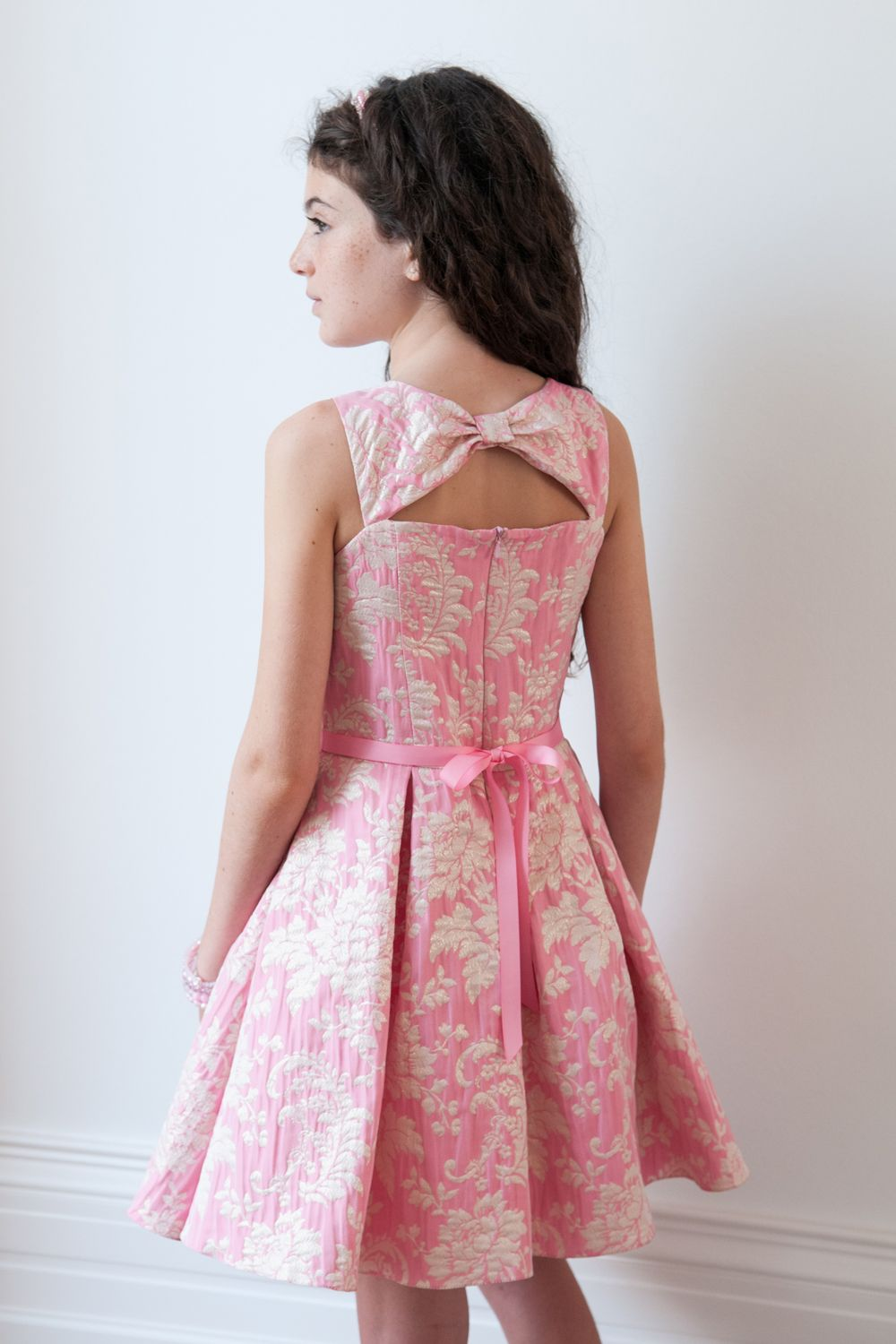 Presenting this pink dream prom dress for girls from David