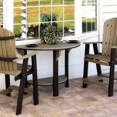 Half Circle Chair Wood New Design Cute Patio Set A Round Table With 2 Balcony Chairs