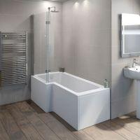 L Shaped Shower Baths : Victoria Plumb | Bathroom ...