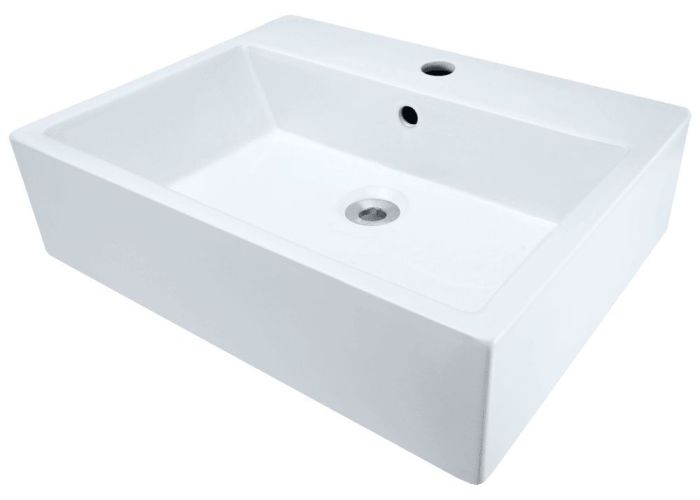 Polaris porcelain rectangular bathroom vessel sink white  vw  showroom sinks also