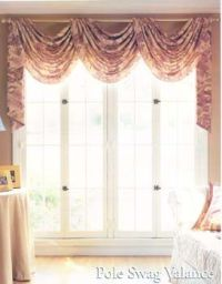 How To Hang Curtains with a Valance   windows   Pinterest ...