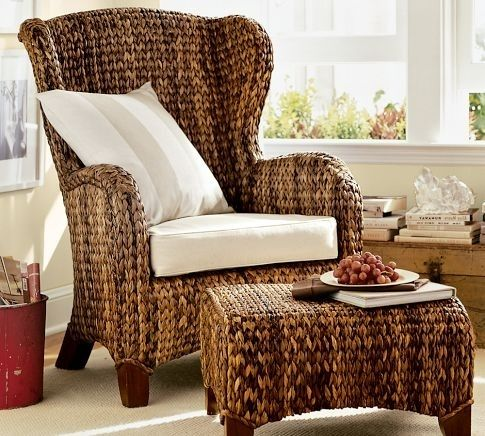 Pottery Barn Seagrass Chair  Dcor  Accessories