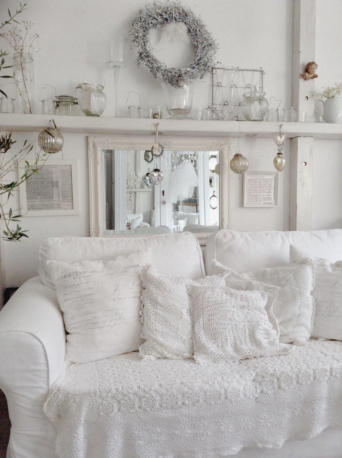 wohnzimmer deko shabby shabby chic wohnzimmer wohnzimmer einrichtungsideen. Black Bedroom Furniture Sets. Home Design Ideas