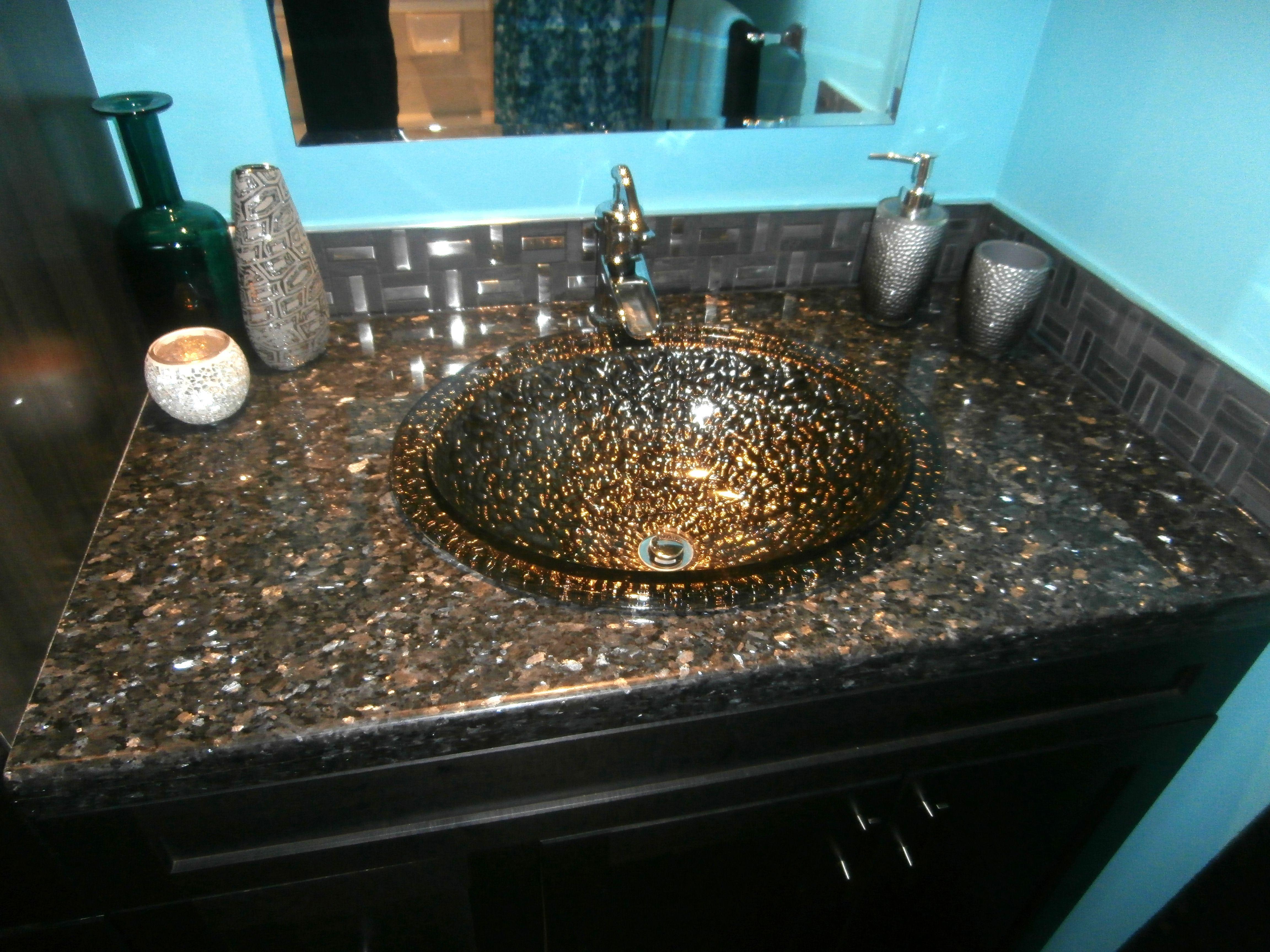 blue pearl granite kitchen cabinet refinishing orlando fl zambukka charcoal cabinetry pebble