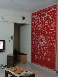 My Warli Wall | Tribal art, India and Paintings