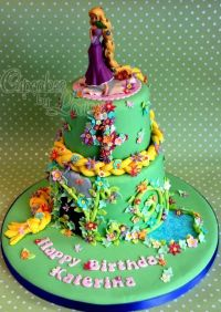 tangled birthday cake ideas