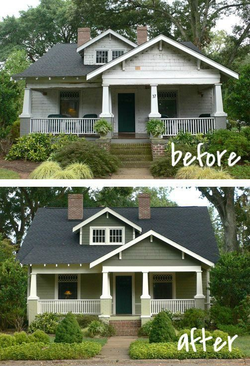 20 Home Exterior Makeover Before And After Ideas Exterior