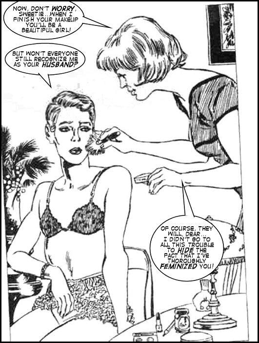 Leeanne's Sissy Musings — prettysissydani: art by Juan