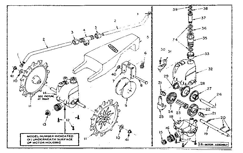 Sears Craftsman traveling sprinkler model #56479009, parts
