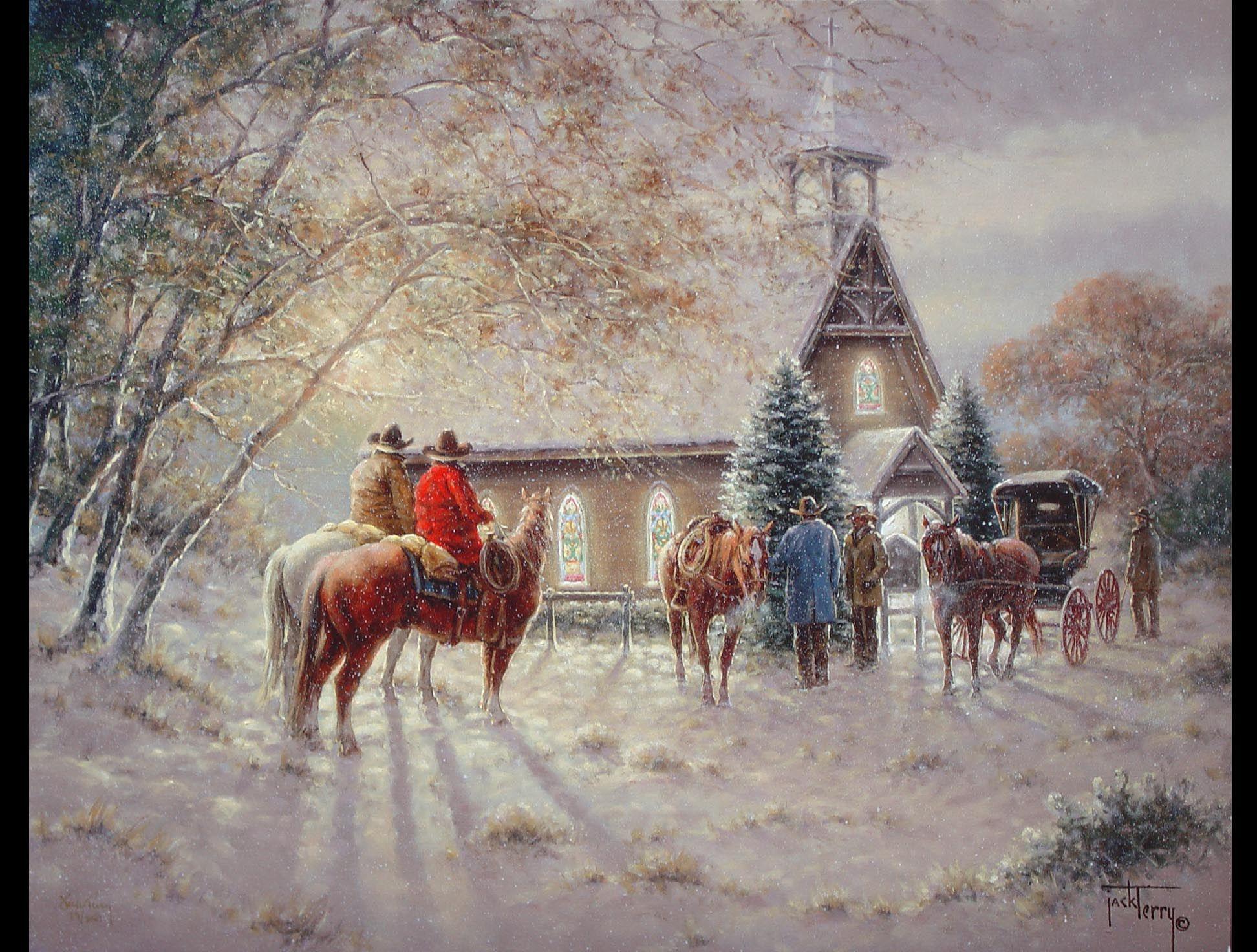 Western And Screensaver Wallpaper Christmas
