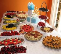Wedding Bridesmaid Brunch. Luncheon, Breakfast Buffet ...