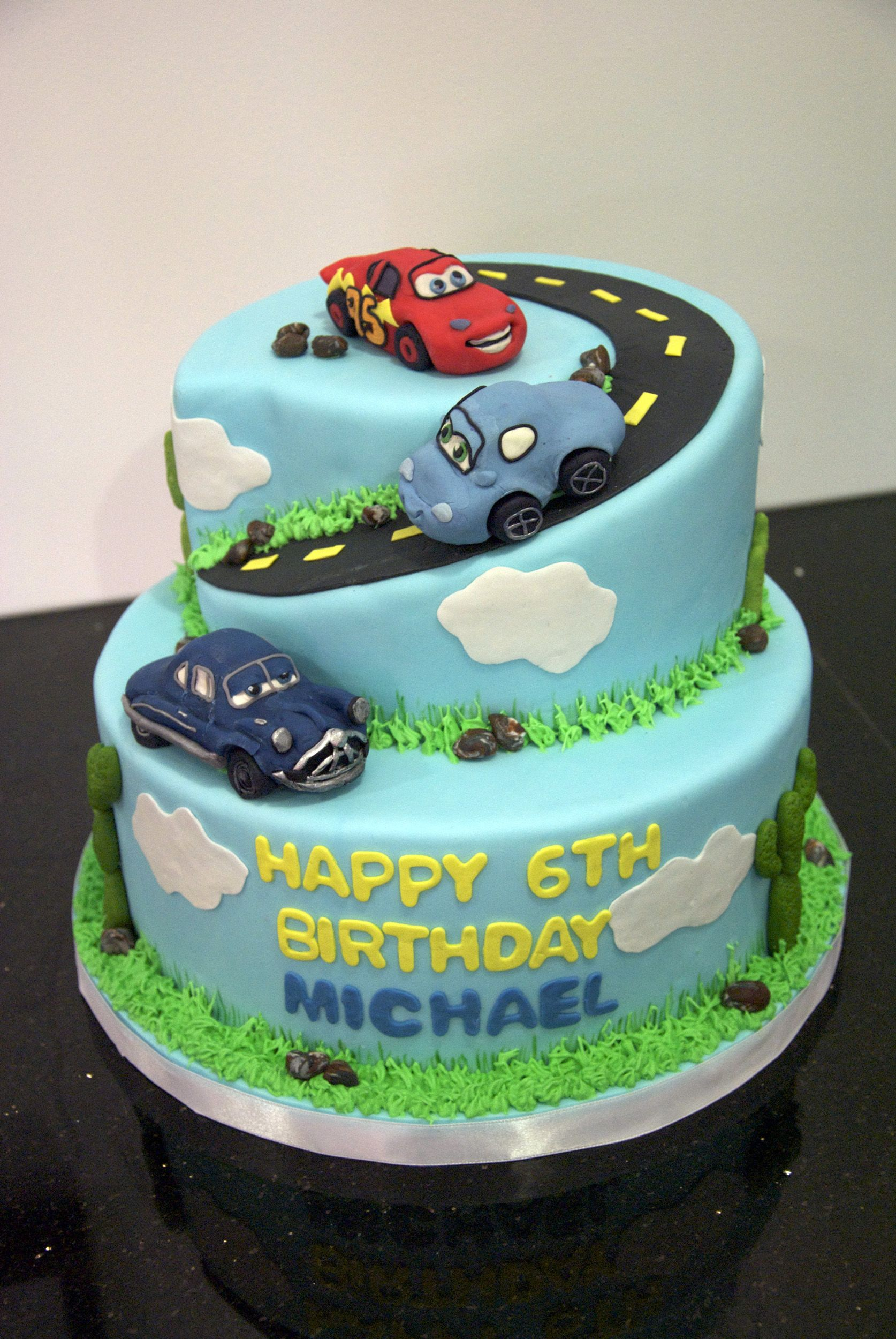 Great Ideas For Kid S Birthday Cakes Cars Cake