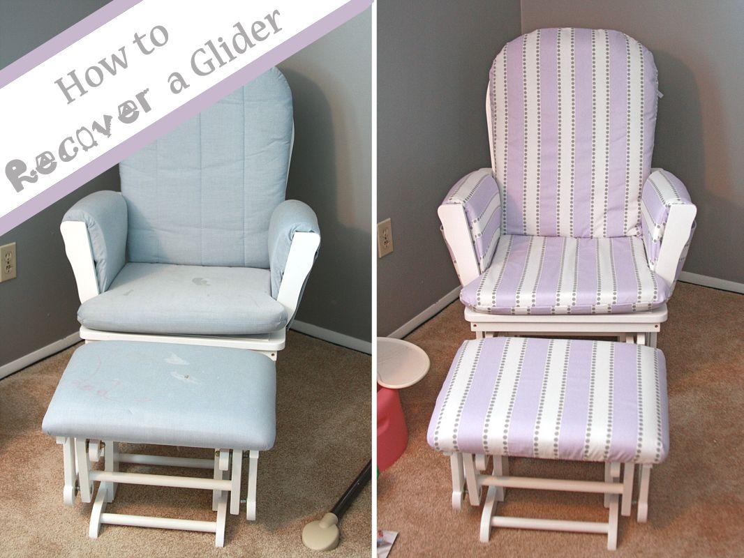 glider chair with ottoman india fabric recliner best 25 43 rocker ideas on pinterest