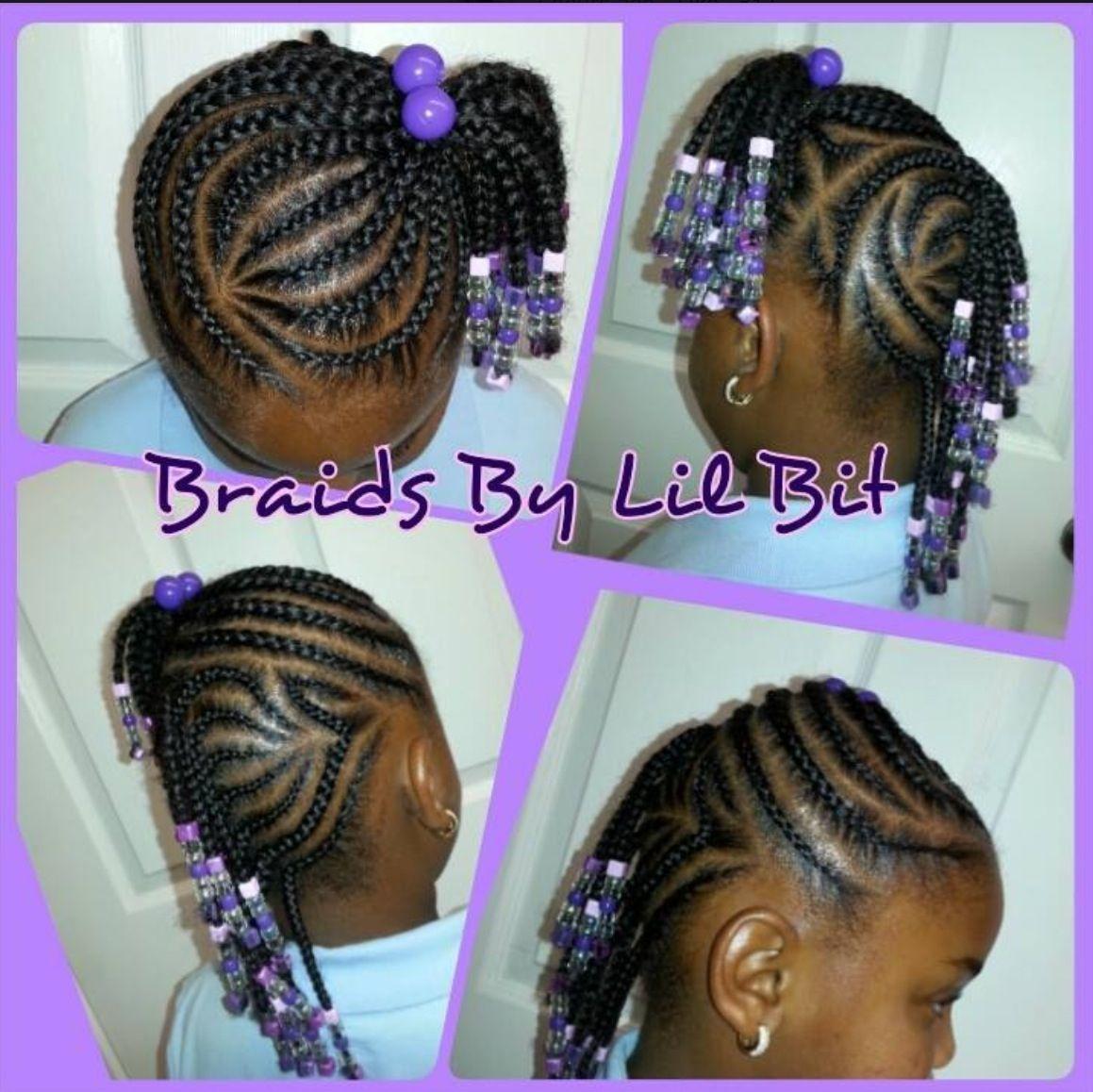 Heart Braids Little Black Girl 2 For My Princess Pinterest