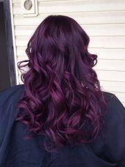 purple balayage pinteres