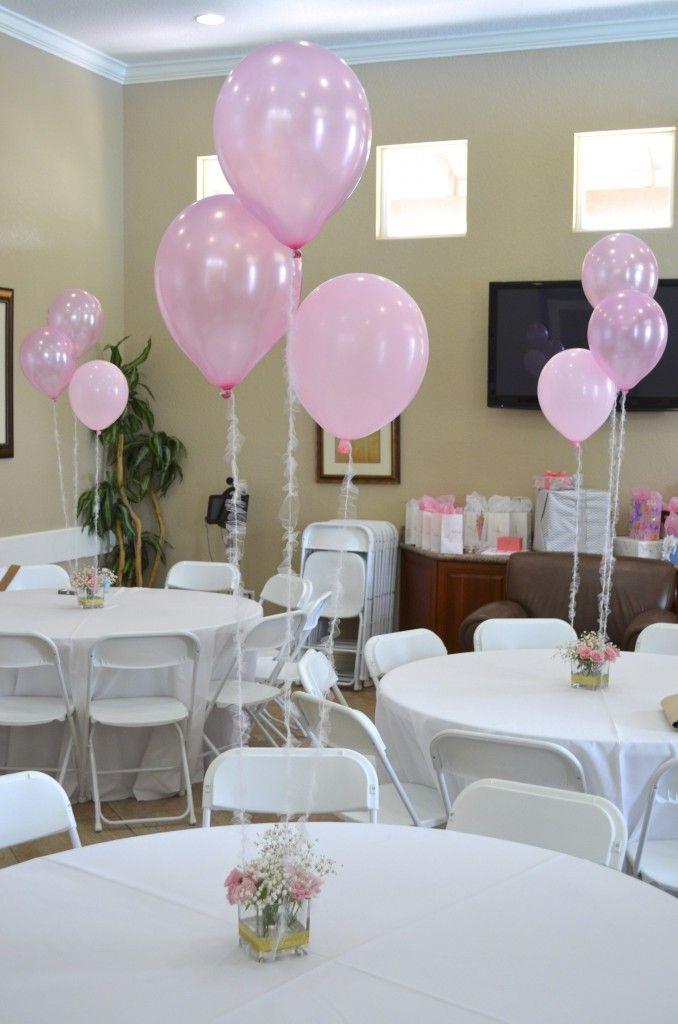 Easy DIY Party Centerpiece Idea  Baby shower centerpieces Shower centerpieces and Simple diy