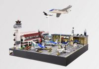 Lego Airport Diorama 'Civil War Scene' | Lego | Pinterest ...