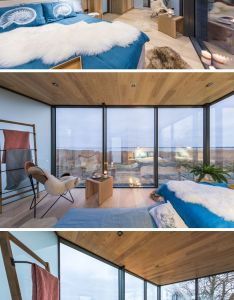 Going inside this small modern home the space has been cleverly decorated and organised to also mediterranean house allows ocean breeze pass rh pinterest
