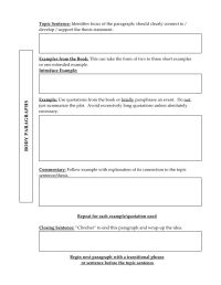 Literary analysis outline | Literature analysis ...