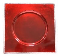 square red charger plate @ http://erikadarden.com ...