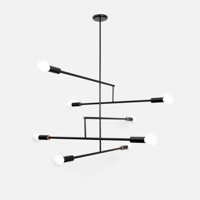 Mobile Chandelier 5 Arms By Andrew Neyer