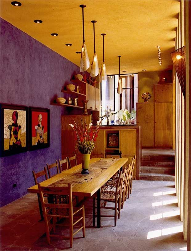 Colorful Interiors Of A House In San Miguel De Allende #Mexico