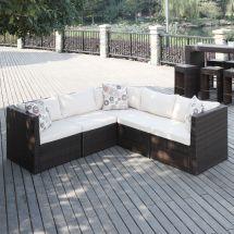 Handy Living Aldrich Brown Indoor Outdoor 5-piece