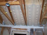 Insulate vaulted ceiling