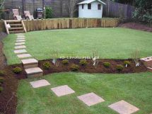 Garden Design with Stepping Stones