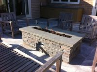 diy natural gas fire pit table - Google Search | Patio ...