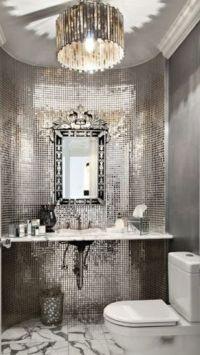 Luxury Silver Bathroom #Luxurydotcom | My Top Pins1 ...