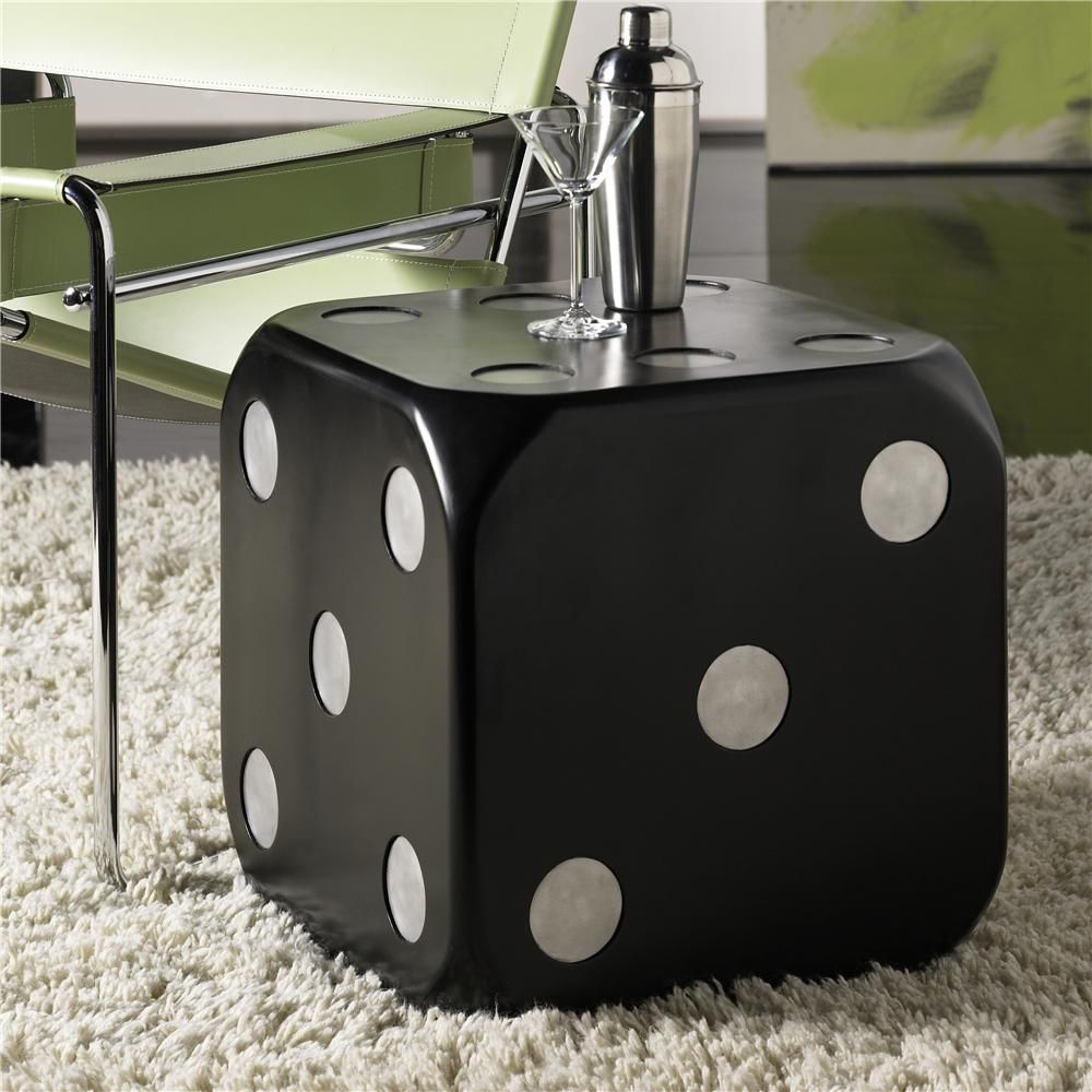 Must Have This End Table Hidden Treasures Dice End