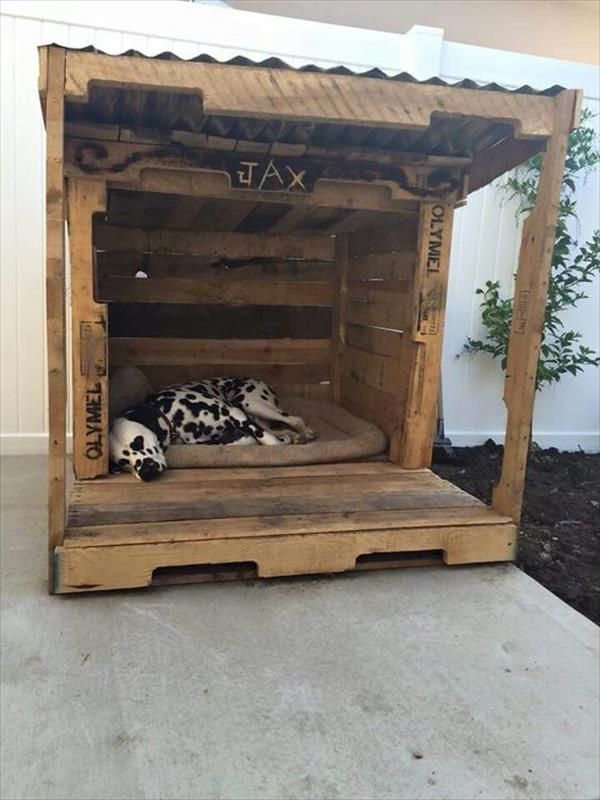Stylish Pallet Dog Houses Designs Pallet Dog House Dog Houses