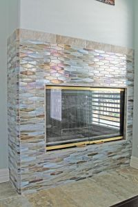 27+ Stunning Fireplace Tile Ideas for your Home | Mosaic ...