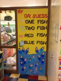 Several Dr. Seuss Door Ideas for Read Across America Week