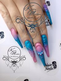Under the Sea nail art by Kirsty Meakin | NAIO NAILS https ...