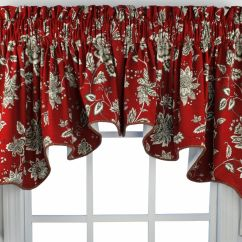 Kitchen Curtain Patterns Modern Cabinets Online Window Valances French Country Choosing