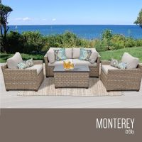Monterey Collection | Patio furniture sets, Wicker patio ...