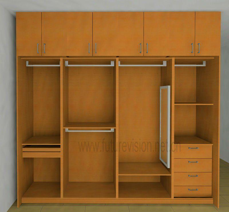 Modern Bedroom Clothes Cabinet Wardrobe Design Abode Pinterest
