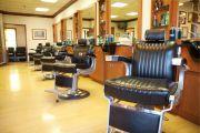 interior barber design layout