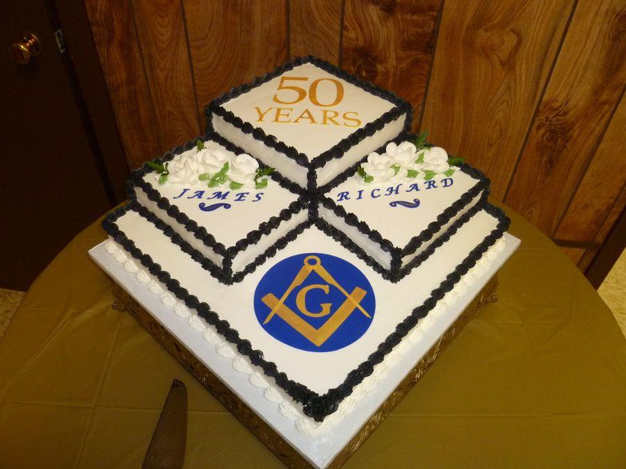 Masonic Cake Decorations Cakepins Com Masonic Stuff Pinterest