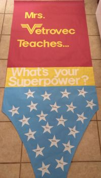 Teacher Appreciation door decoration-- Superhero theme ...