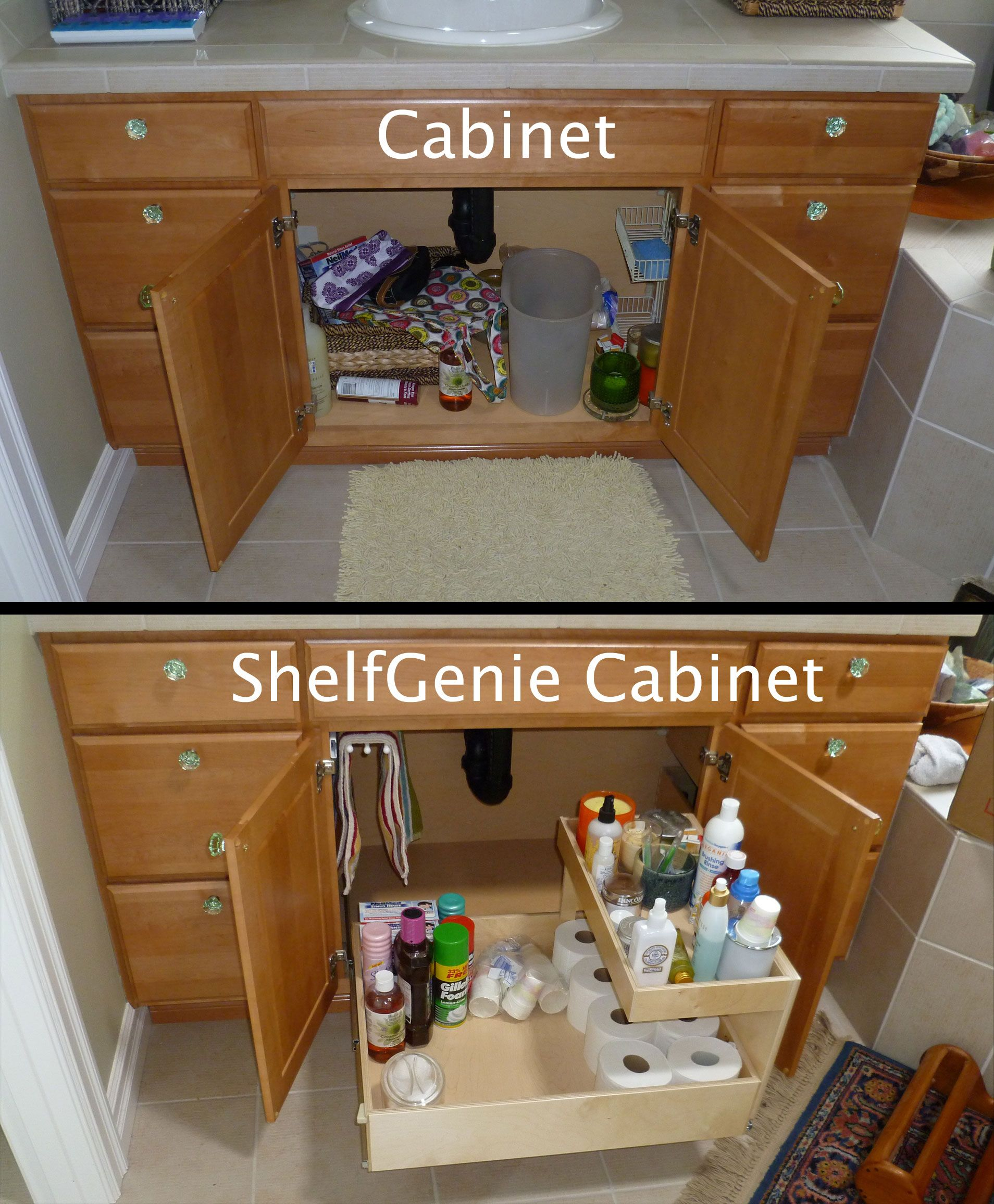 adding shelves to kitchen cabinets free standing cupboards the recipe for turning this cabinet into a shelfgenie