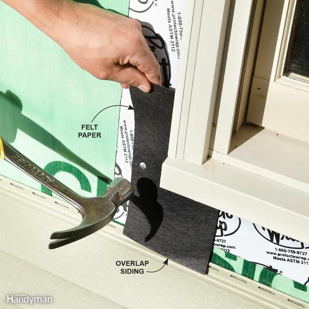 how to remove vinyl siding j channel