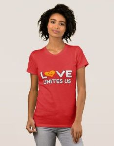 Explore festival party halloween and more love unites us tee ts cyo personalize diy also pinterest rh za