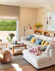 Un antes  despues coastal living roomsliving room ideasapartment roomshouse decorationsdecorating ideasinterior designhappeningswhat  farmhouse also home pinterest rooms salons and rh