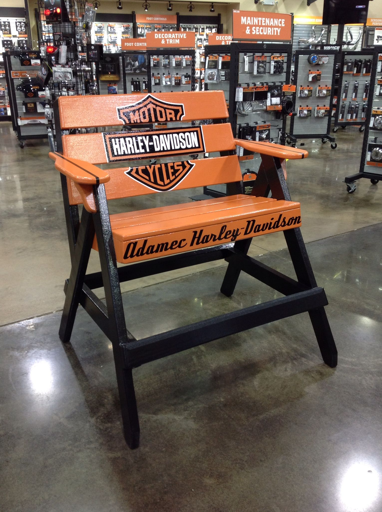 Harley Davidson Chairs Decoration De Noel Harley Davidson