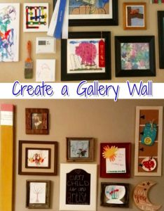 Diy gallery wall ideas accent decorating to copy children  and walls also rh pinterest