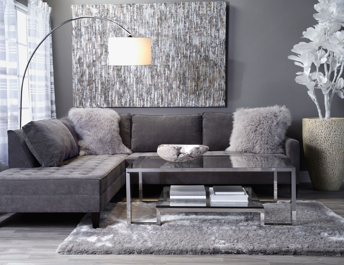 Check out the best in living room furniture with articles like how to tighten the arm on a reclining sofa, how to repair leaning recliners, & more! Silver And Grey Living Room