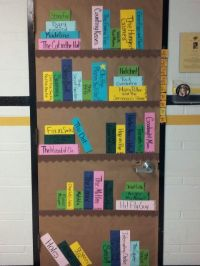 My door for literacy night | Ideas for my classroom ...